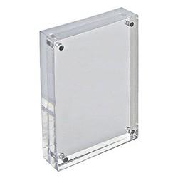 "Azar 4"" x 6"" Vertical/Horizontal Acrylic Block Frame"