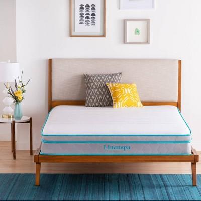"Essentials 10"" Spring and Memory Foam Hybrid Mattress - Linenspa"