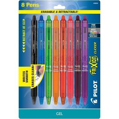 8ct FriXion Clicker Erasable Retractable Gel Pens