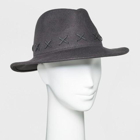 Women's Panama Hat - Universal Thread™ Gray - image 1 of 1
