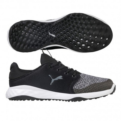60daaea8948 About this item. Details. Size charts. Shipping   Returns. Q A. PUMA Grip  FUSION Sport Spikeless Golf Shoes Black Quiet ...