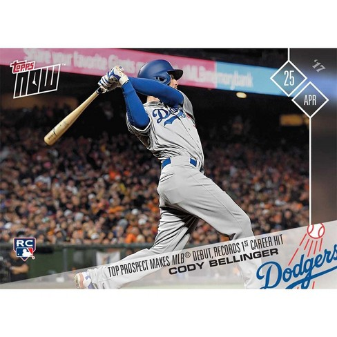 Mlb La Dodgers Cody Bellinger 85 2017 Topps Now Trading Card