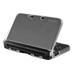 INSTEN TPU Rubber Case compatible with Nintendo 3DS XL/LL , Clear