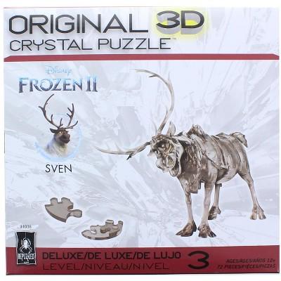 University Games Frozen Sven 72 Piece 3D Crystal Jigsaw Puzzle
