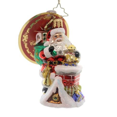 Christopher Radko Spectacular Entrance Gem Ornament  Santa - image 1 of 2