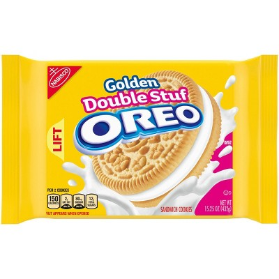 Cookies: Oreo Golden Double Stuf