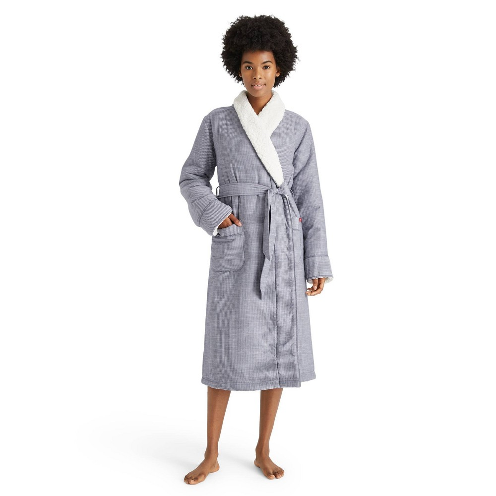 Women 39 S Striped Woven Robe Levi 39 S 174 X Target Xs S
