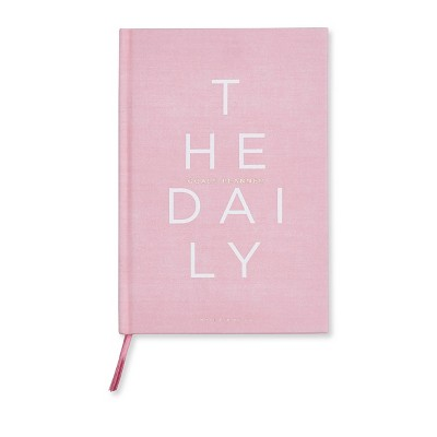 """Undated Daily Planner 8.5""""x 5.75"""" Pink - West Emory"""