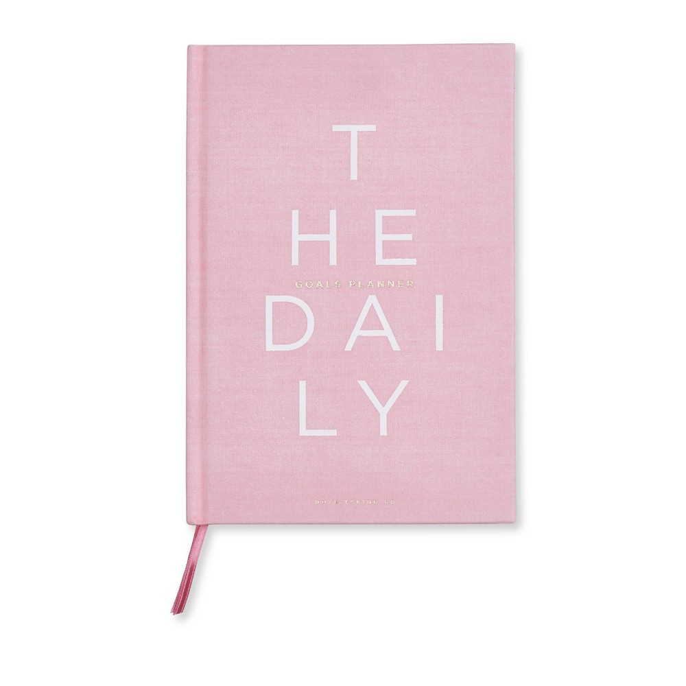 """Image of """"Undated Daily Planner 8.5""""""""x 5.75"""""""" Pink - West Emory"""""""
