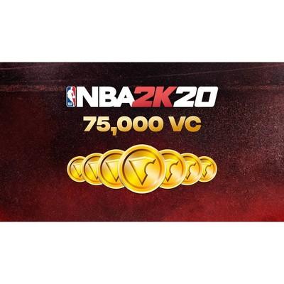 NBA 2K20: 75,000 VC - Nintendo Switch (Digital)