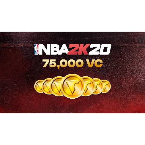 NBA 2K20: 75,000 VC - Nintendo Switch (Digital) - image 1 of 1