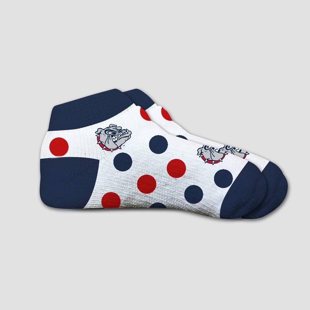 NCAA Gonzaga Bulldogs Polka Dot Infant Sock 2T-4T, Infant Unisex