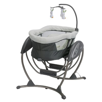 Graco Dream Glider Gliding Swing & Sleeper Baby Swing - Rascal