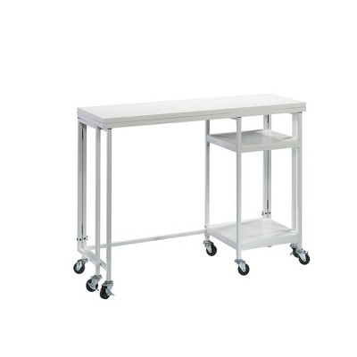 Craft Pro Series Fold Out Work Cart White - Sauder