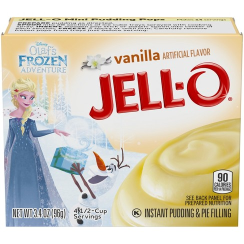 Jell-O Instant Vanilla Pudding & Pie Filling - 3 4oz