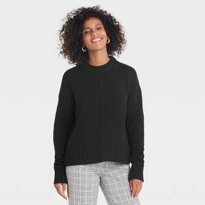 Women's Crewneck Pullover Sweater - A New Day™