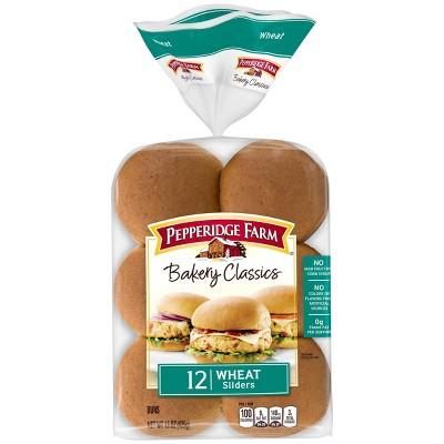 Pepperidge Farm Bakery Classics Wheat Slider Buns - 15oz/12ct