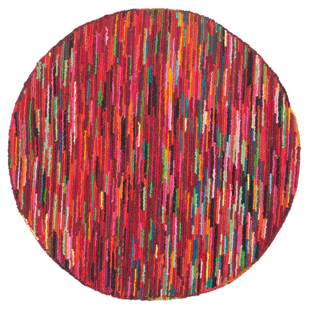 Ludlow Area Rug - Pink(8'x8' Round) - Safavieh, Multicolored Pink
