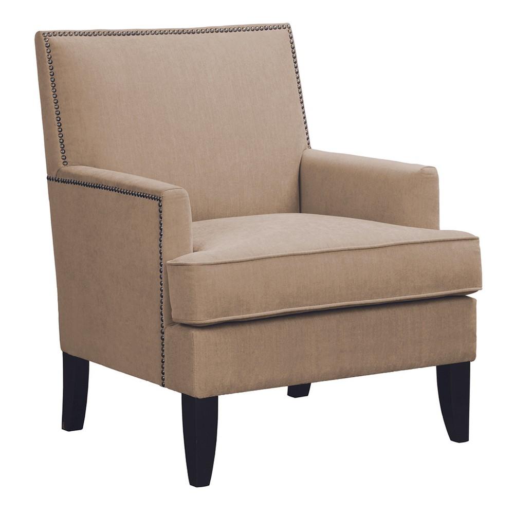 Robin Track Arm Club Chair - Sand (Brown)