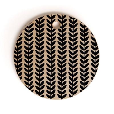 """13"""" Wood Alisa Galitsyna Herbs Cutting Board - society6"""
