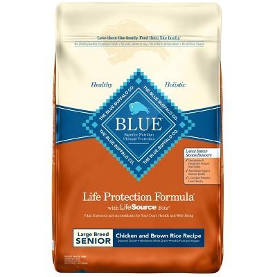 Dog Food: Blue Buffalo Life Protection Large Breed Senior