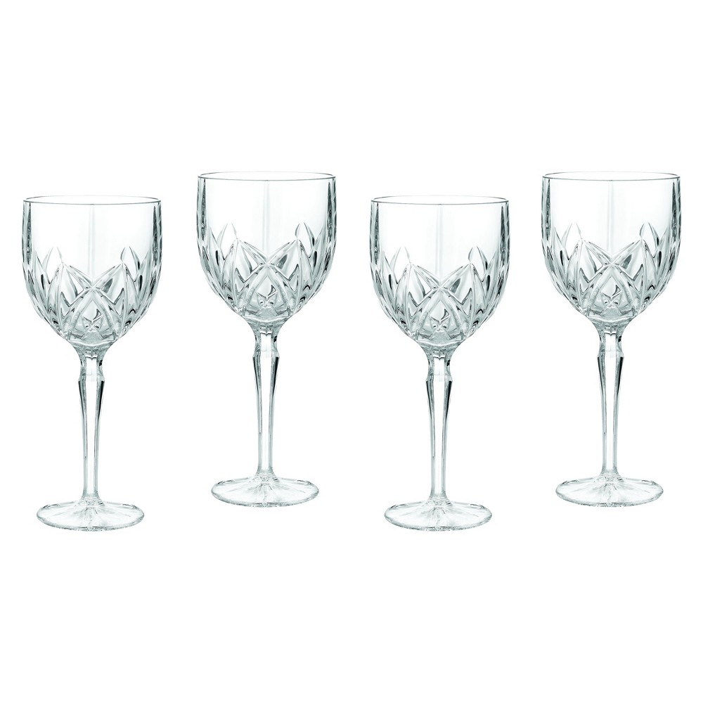 Image of Marquis by Waterford Brookside Crystal Goblets 11oz - Set of 4