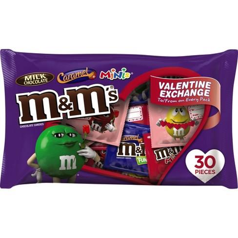M M s Variety Fun Size Valentine s Day Exchange - 30ct 16.1oz   Target d0923fd09cb1c