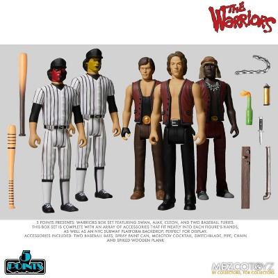 Mezco Toyz The Warriors 5 Points Action Figure Box Set | Includes 5 Figures