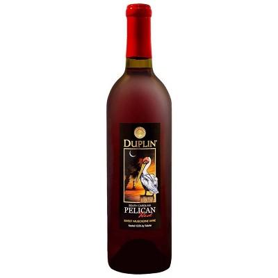 Duplin Pelican Red Sweet Muscadine Wine - 750ml Bottle