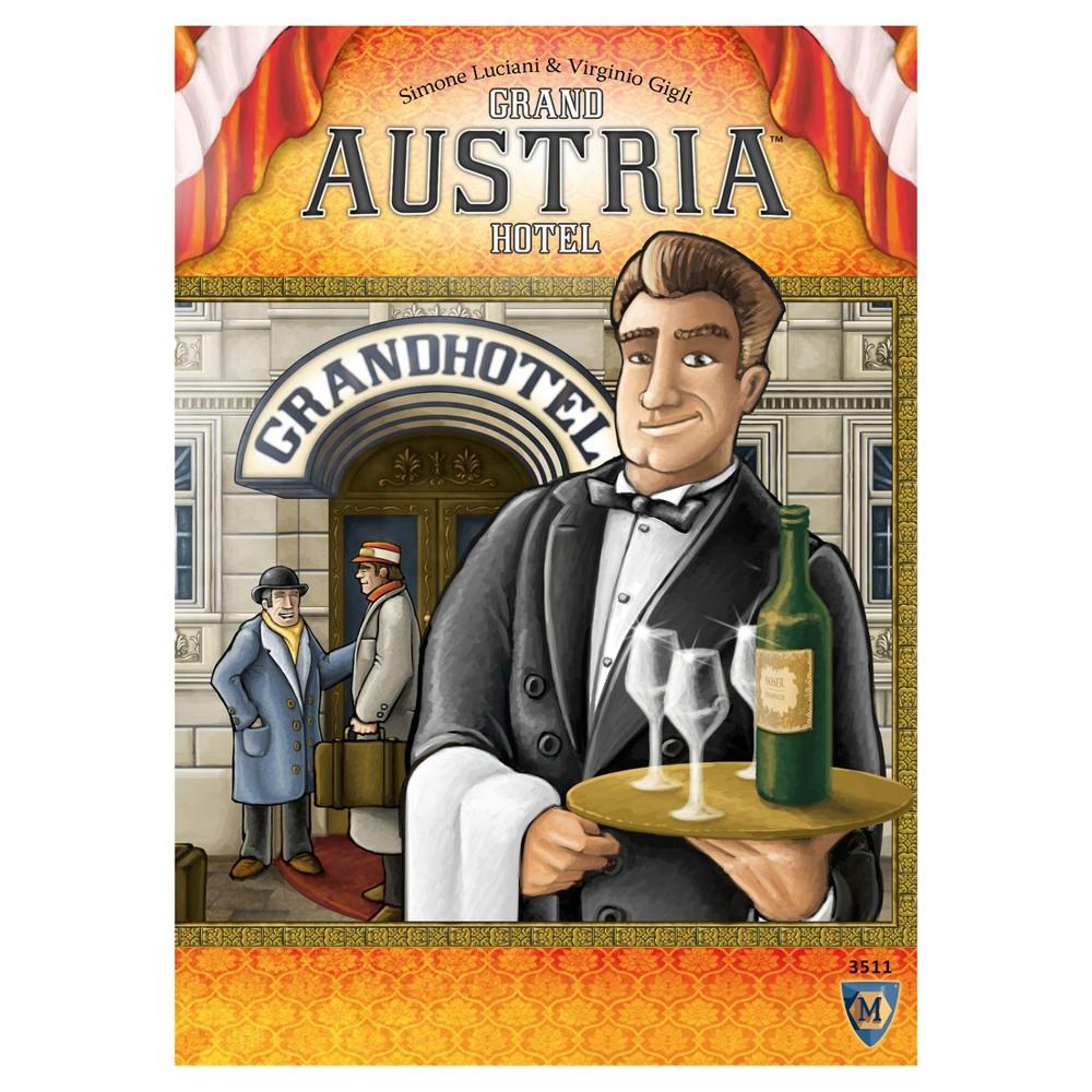Mayfair Games Grand Austrian Hotel Board Game