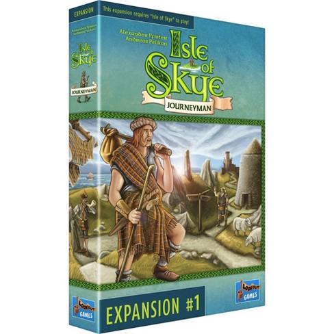Lookout Isle of Skye: Journeyman Expansion Board Game - image 1 of 4