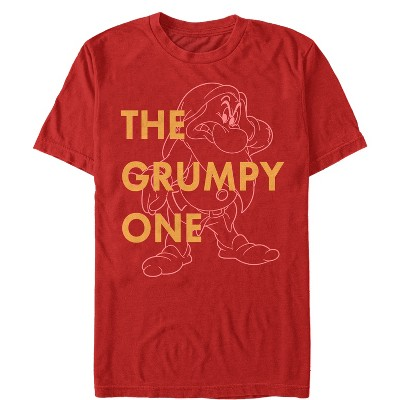 Men's Snow White and the Seven Dwarves Grumpy One T-Shirt