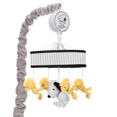 Lambs & Ivy Classic Snoopy Musical Baby Crib Mobile