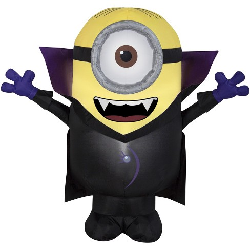 Gemmy Airblown Gone Batty Minion Universal, 3 ft Tall, Multicolored - image 1 of 2