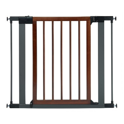 Munchkin® Wood & Steel Safety Gate - 29.5-35.0