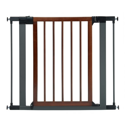Munchkin® Wood & Steel Safety Gate - image 1 of 9