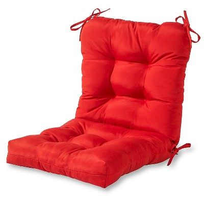Solid Outdoor Seat/Back Chair Cushion - Salsa - Kensington Garden