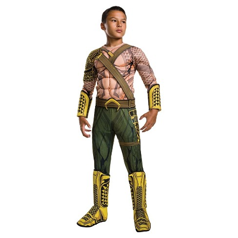 Kids' Batman v Superman: Dawn of Justice Deluxe Aquaman Costume - image 1 of 1