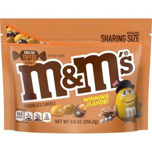 M&M's English Toffee Peanut Chocolate Candy - 9oz - image 1 of 1
