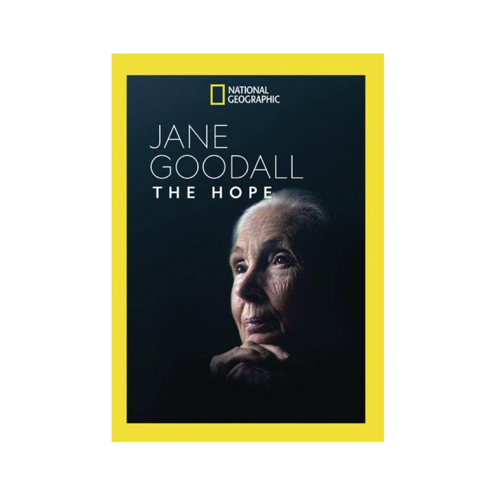 National Geographic Jane Goodall The Hope Dvd 2020