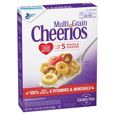 Cheerios Gluten Free Multigrain Breakfast Cereal - 18oz - General Mills