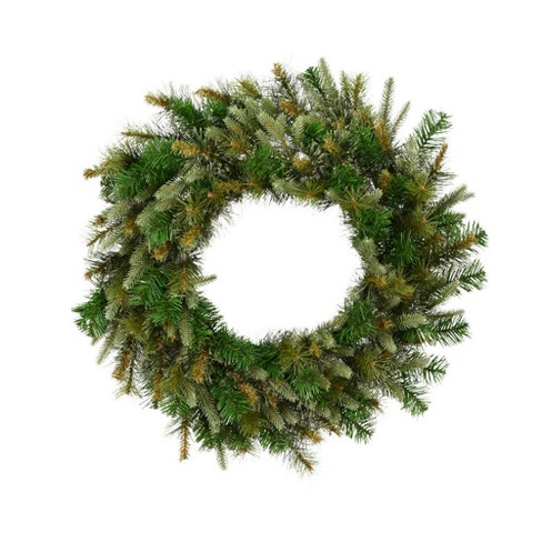 "Vickerman 24"" Cashmere Artificial Christmas Wreath Unlit - image 1 of 1"