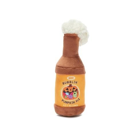 BARK Pumpkin Ale Dog Toy -  Bubblin' Pumpkin Ale - image 1 of 7