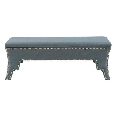 Lopina Storage Accent Bench Blue