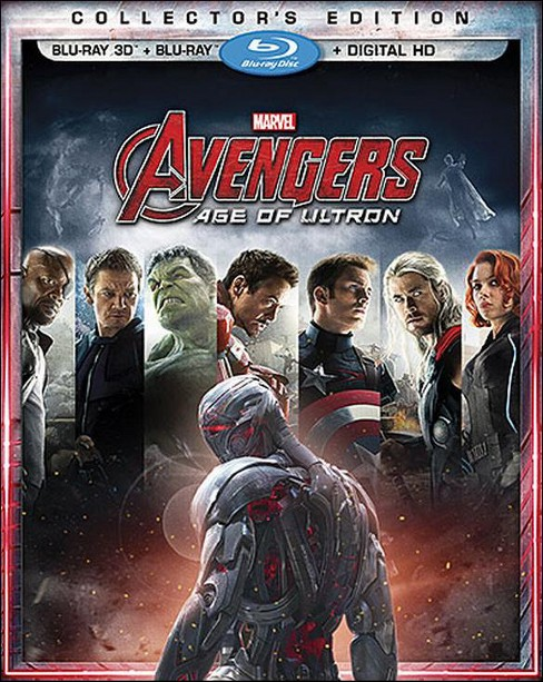 Avengers: Age of Ultron [Includes Digital Copy] [3D] [Blu-ray] - image 1 of 1