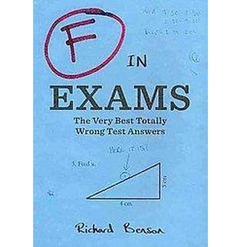 F in Exams (Reprint) (Paperback) - image 1 of 1