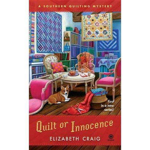 Quilt or Innocence - (Southern Quilting Mystery) by  Elizabeth Craig (Paperback) - image 1 of 1