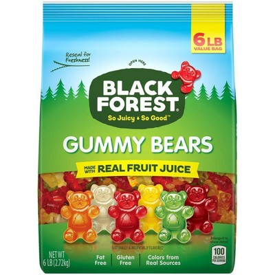 Gummy Candies: Black Forest Classic Gummy Bears