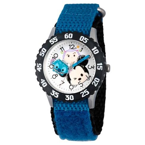 Boys 39 disney tsum tsum watch blue target for Tsum tsum watch