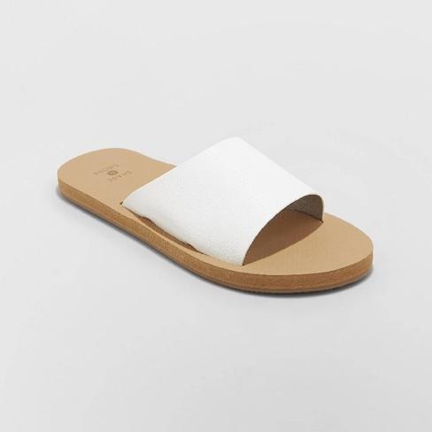 951d406d6 Women s Annalise Asymmetrical Slide Sandals - Shade   Shore™   Target
